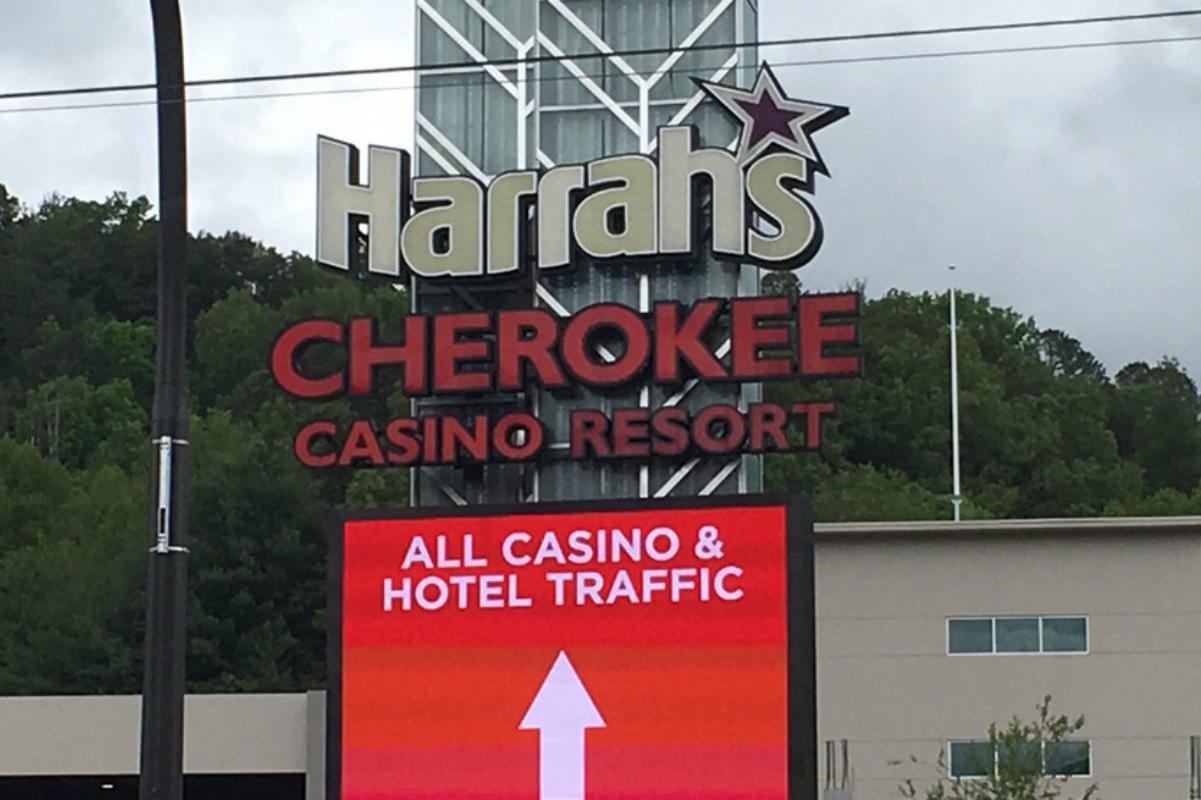 Harrah's Cherokee casino North Carolina