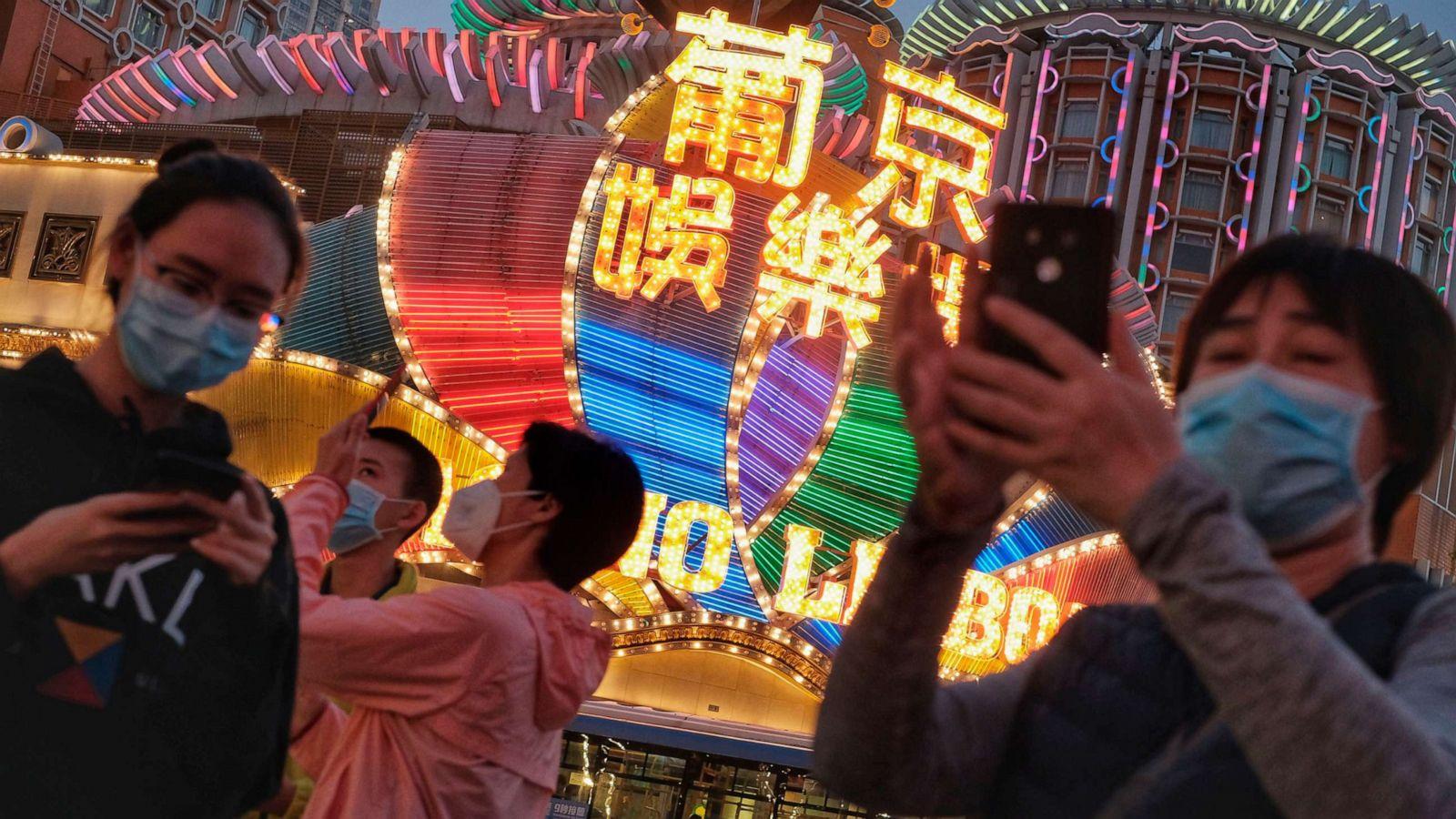 Macau revenues