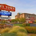 Las Vegas' Sam's Town Casino Parking Garage Scene of Midday Christmas Robbery