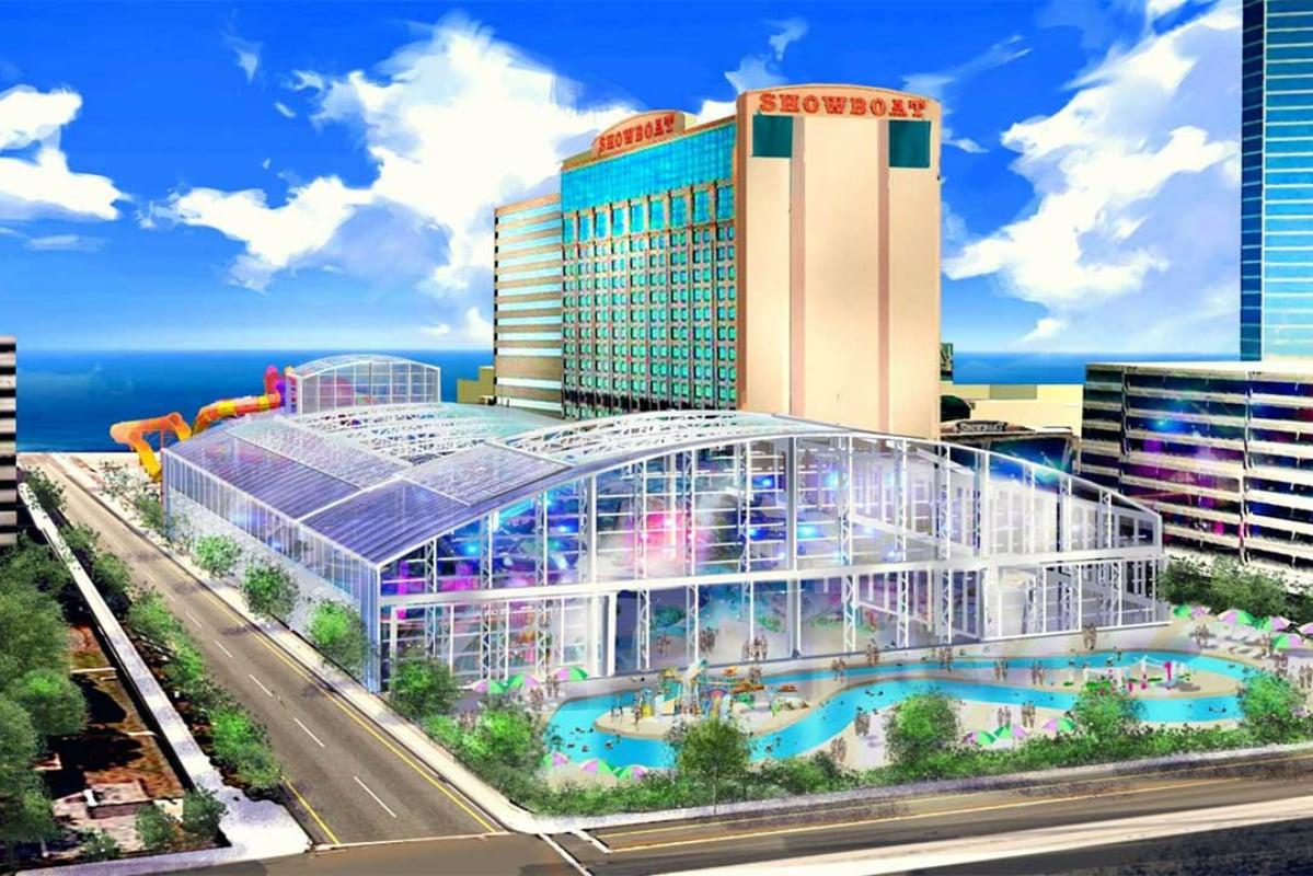 Atlantic City waterpark Showboat