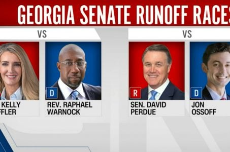 Georgia election odds Senate power