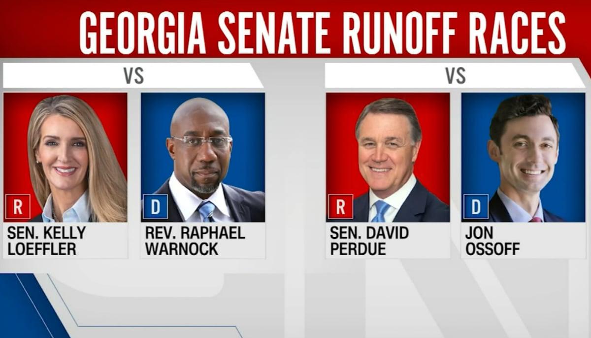 Georgia election odds Senate power