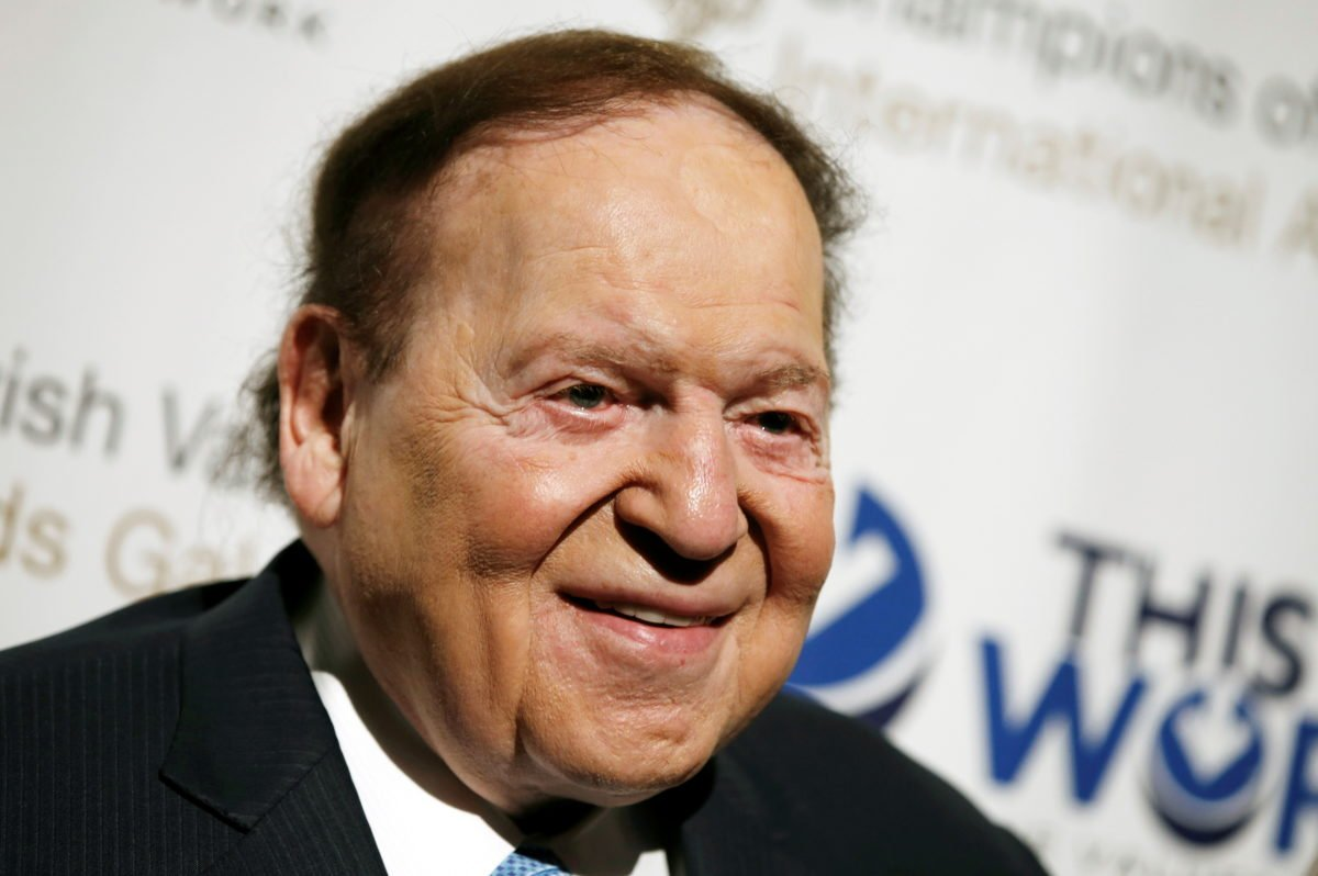 Sheldon Adelson dead Las Vegas Macau