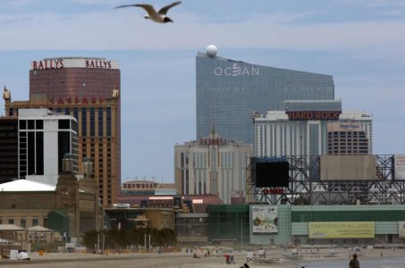 New Jersey gross gaming revenue Atlantic City