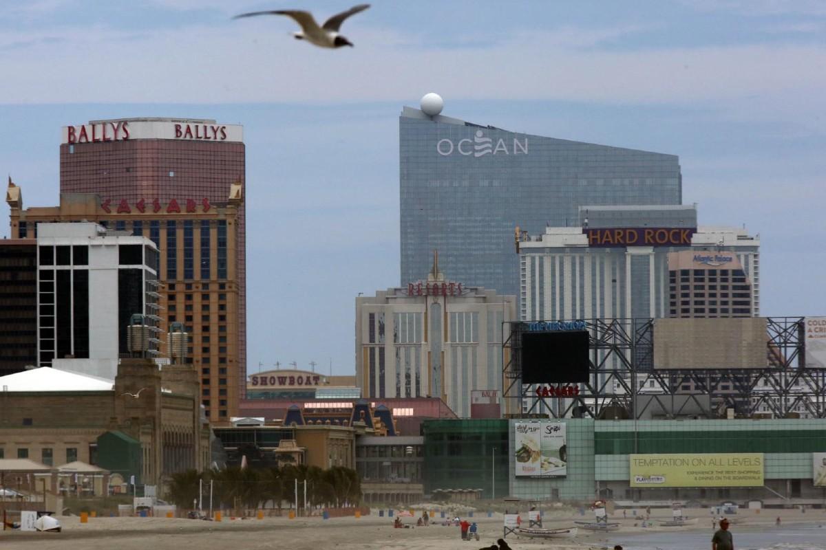 New Jersey gross gaming revenue Atlantic City