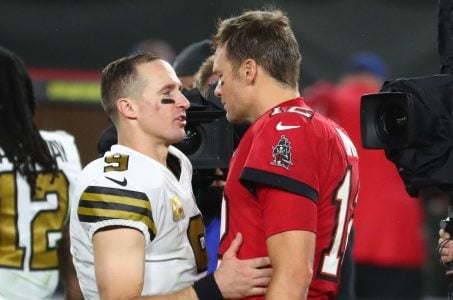 Drew Brees and Tom Brady