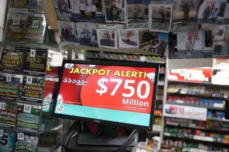 Mega Millions lottery jackpot Powerball