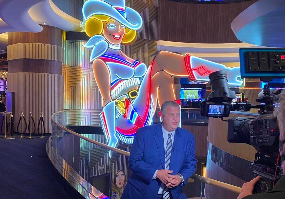 casino industry pent-up demand Derek Stevens