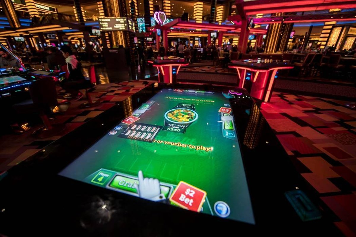 skill gaming machines Las Vegas casino