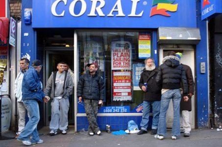 UK betting shops high street