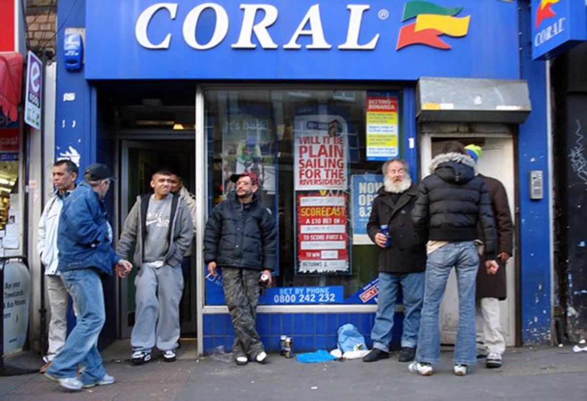 UK betting shops high street