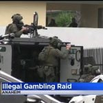 California Police Continue Gambling Raids on Alleged 'Slaphouses'