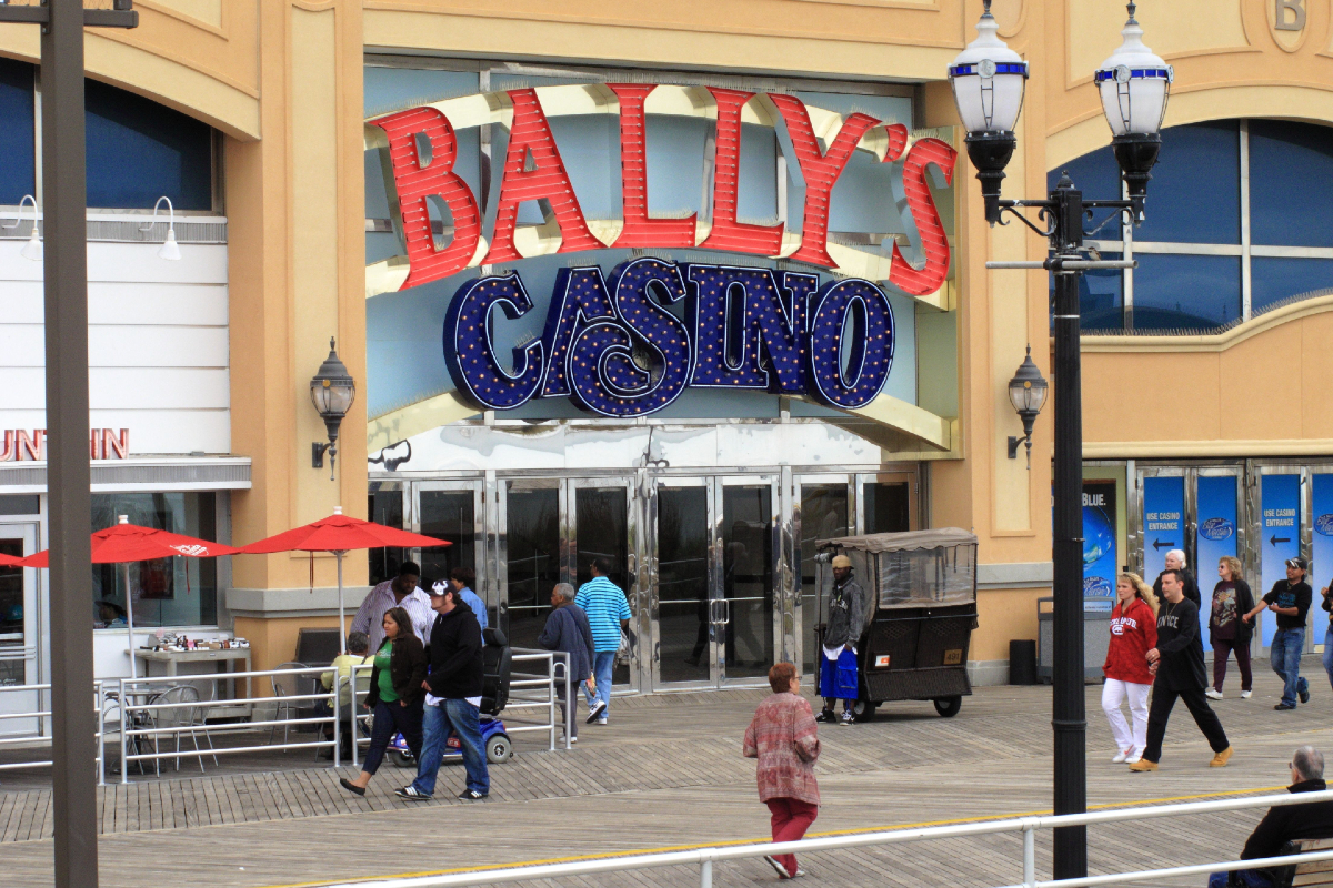 Bally's Atlantic City casino Caesars