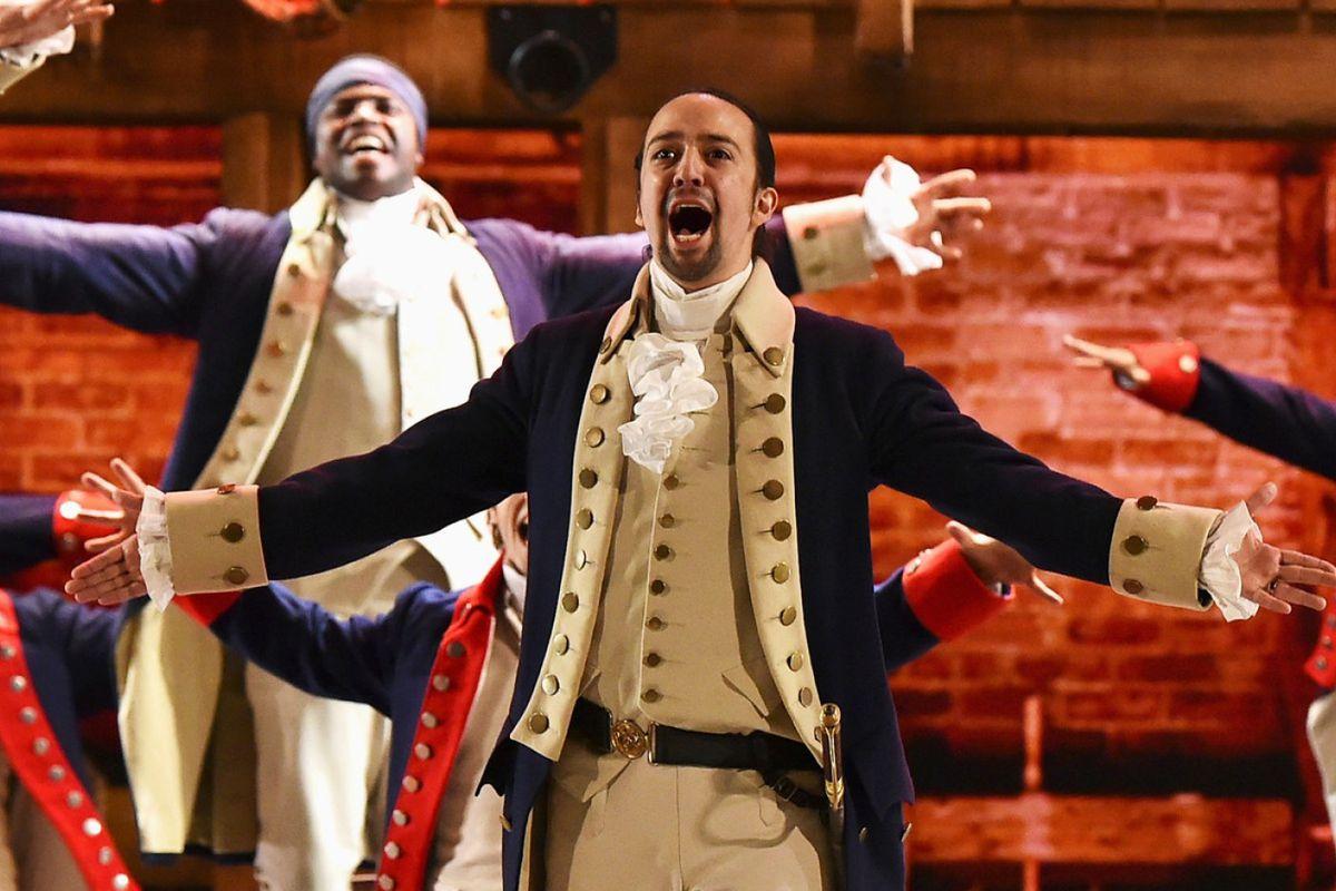 Las Vegas Hamilton musical Paris Caesars