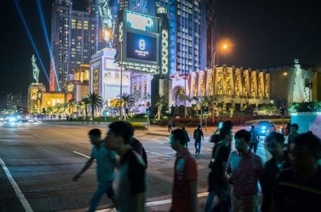 Macau casino gaming revenue