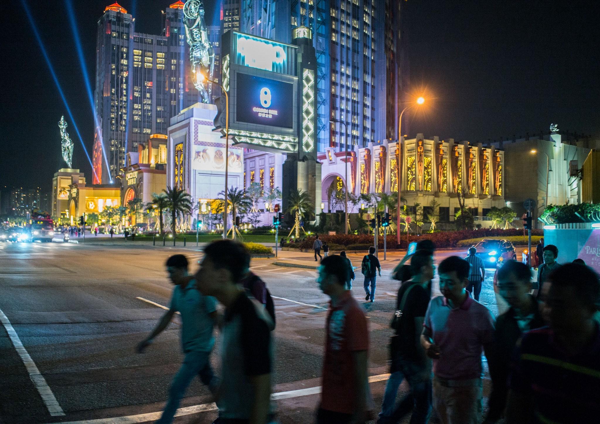 Macau casino gaming revenue