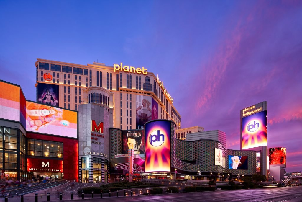Planet Hollywood Reopening