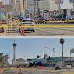 Las Vegas Strip Crash, Shooting Led to Multiple-Hour Street Closures Monday