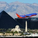 Airport Passenger Totals, Casino Wins Plummet in Las Vegas