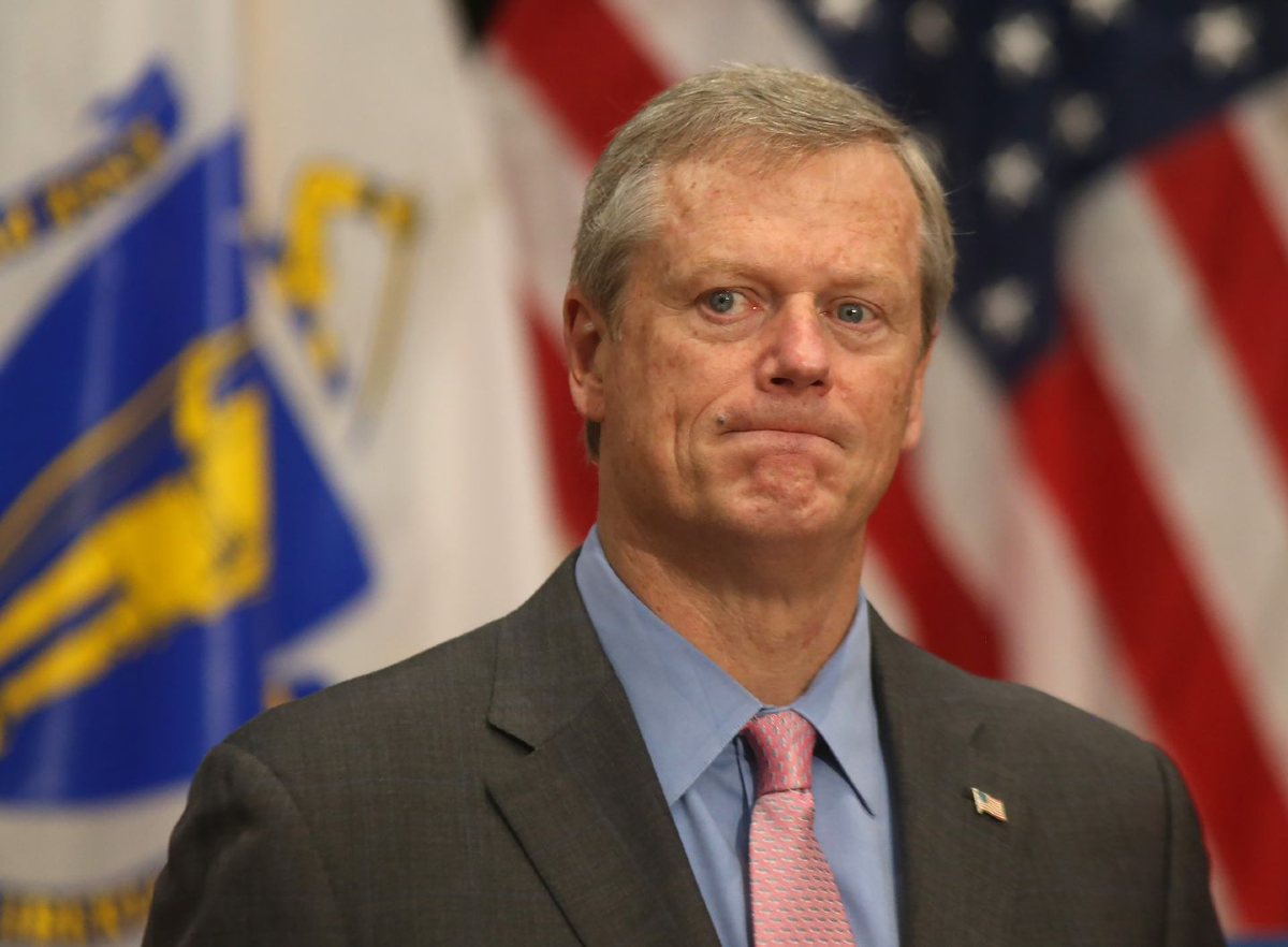 Massachusetts sports betting Charlie Baker