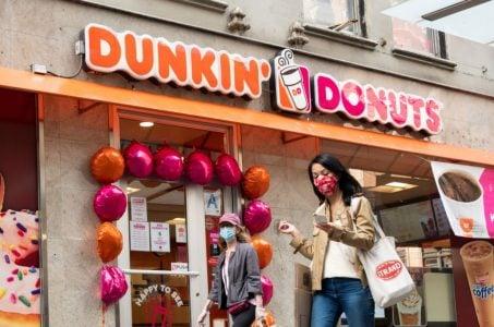 Las Vegas Strip Dunkin' Donuts Nevada