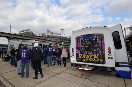 Baltimore sports betting Maryland Orioles Ravens