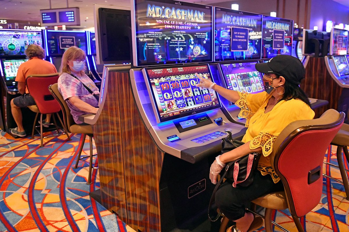 Atlantic City casinos gross gaming revenue