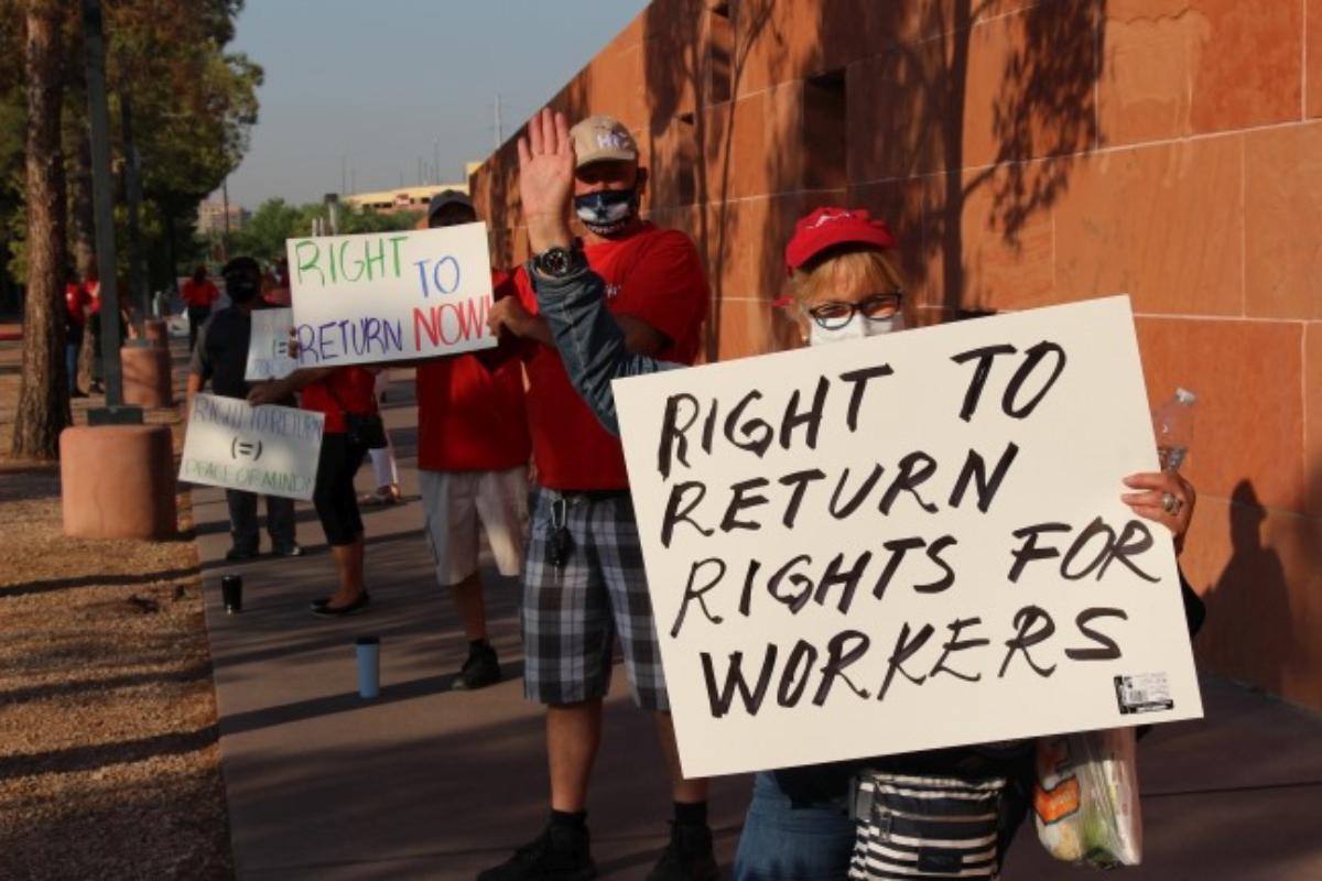 Las Vegas casino union right to return