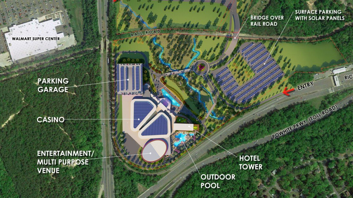 Bally's Richmond casino resort bid