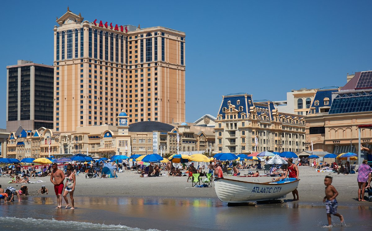 Caesars Entertainment Atlantic City casino resort