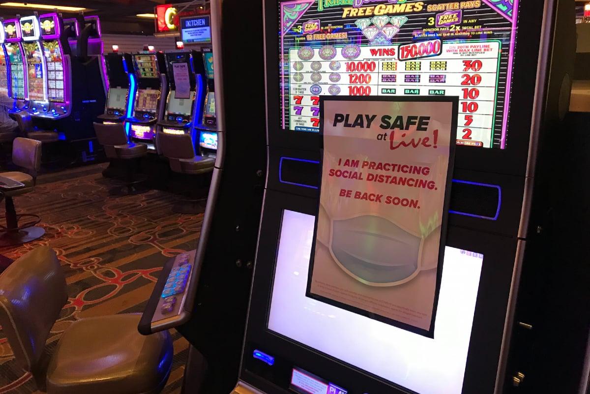 Maryland casinos gaming revenue Live! MGM