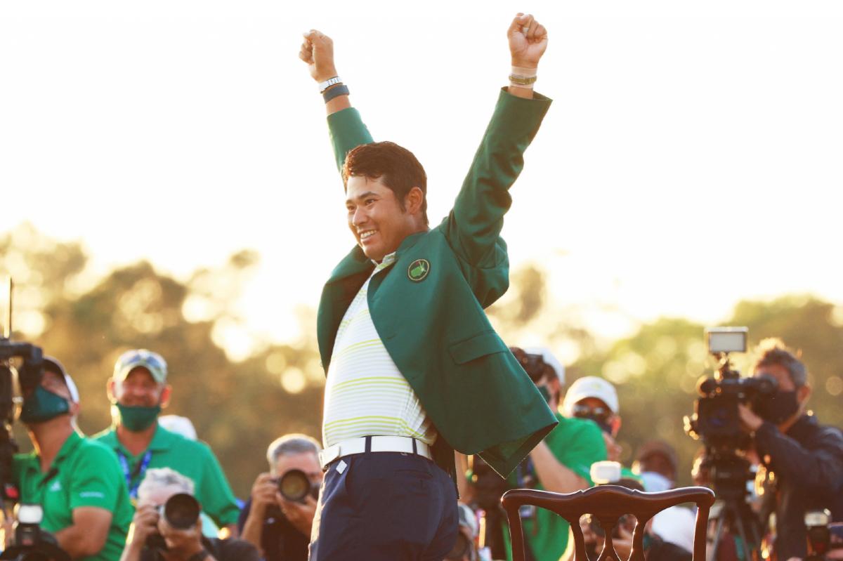 Hideki Matsuyama Masters odds golf