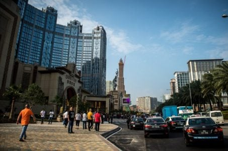 Macau casinos March revenue GGR