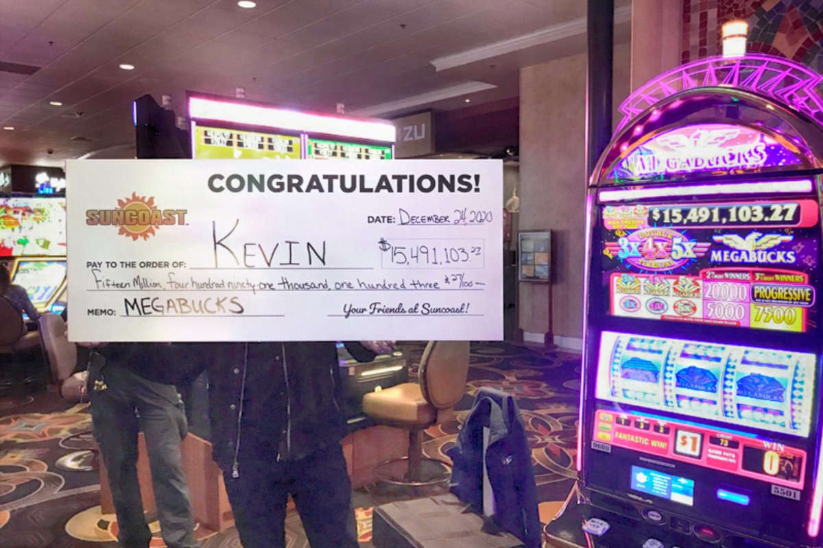 Las Vegas slot machine jackpot Nevada