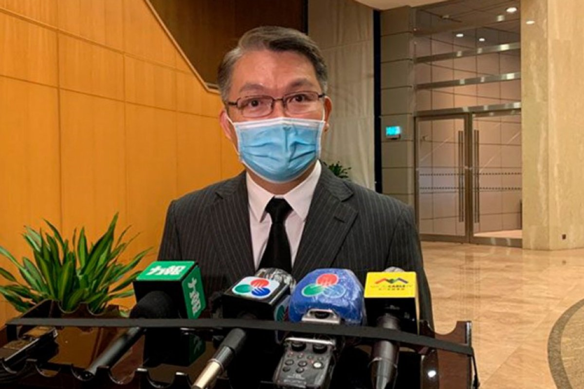 Macau Adriano Ho DICJ casino regulator