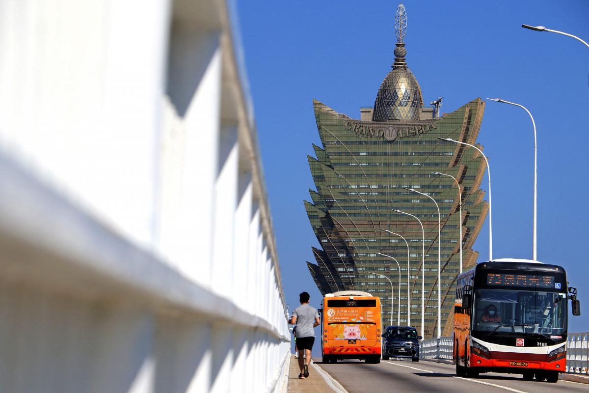 Macau casino revenue GGR