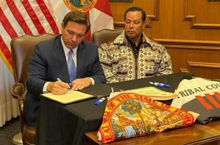 Florida gaming expansion DeSantis Seminole