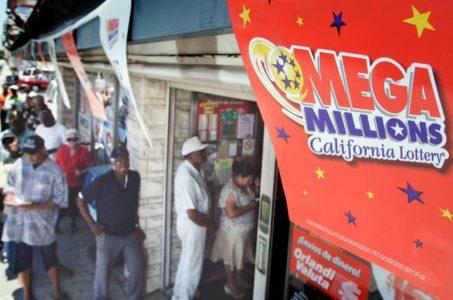 Mega Millions lottery jackpot