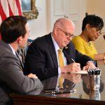 Maryland Gov. Larry Hogan Signs Sports Betting Bill, Ravens and BetMGM Partner