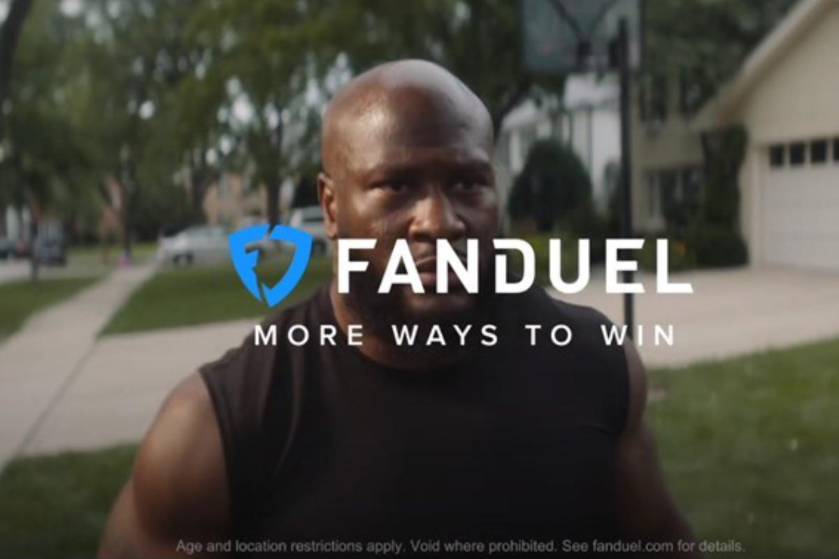 sports betting advertising FanDuel