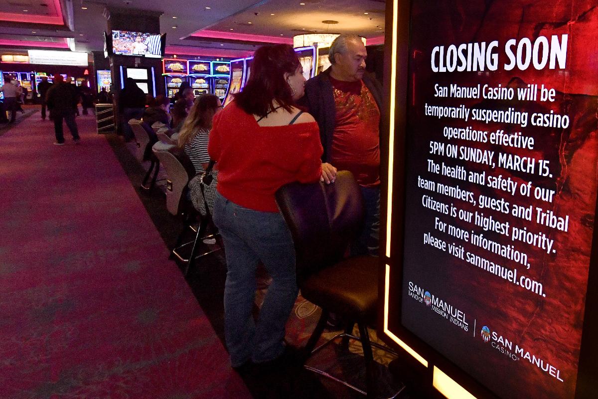 land-based casinos iGaming gambling