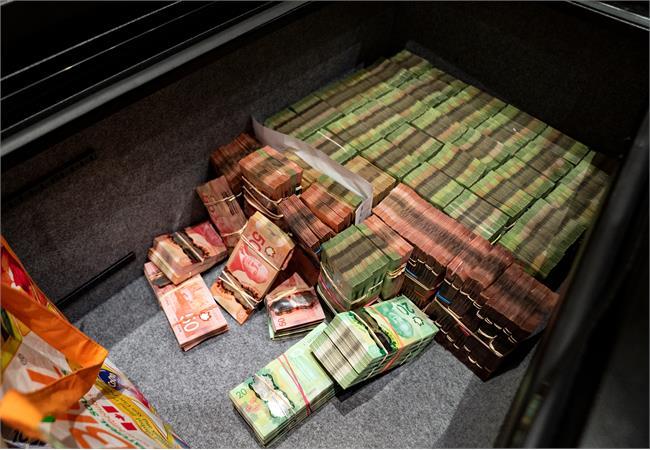 Illegal casino cash