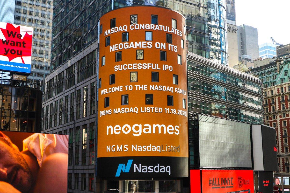 NeoGames Stock