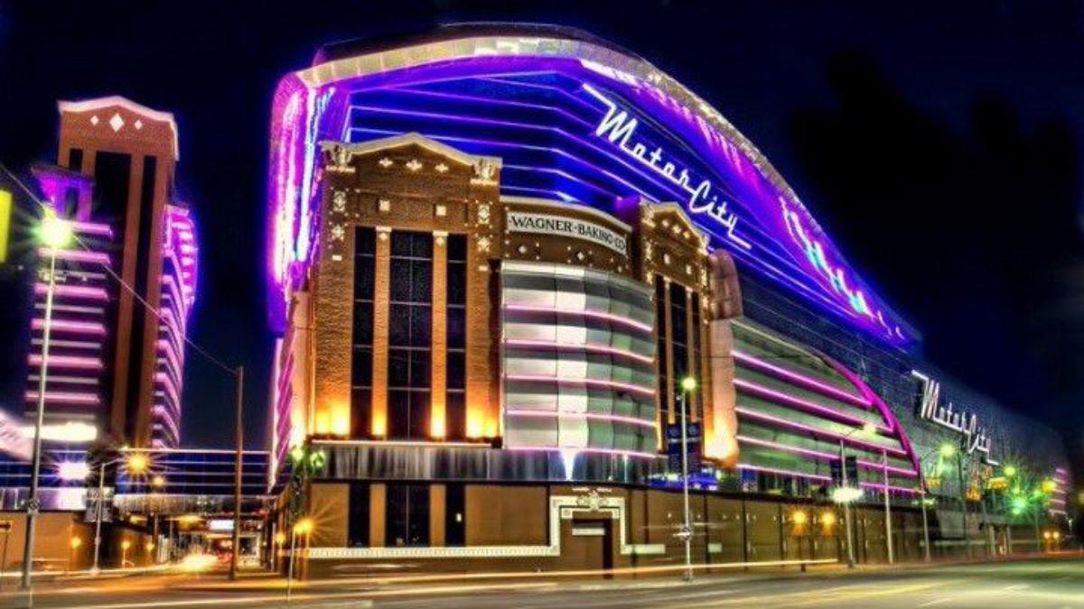 Revenus du casino de Détroit MotorCity