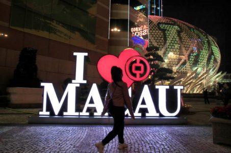 Macau casinos GGR China