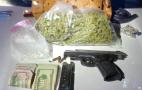 Las Vegas police confiscated handgun