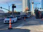 Las Vegas Strip construction