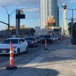 Las Vegas Strip Construction Adjusted for Resorts World Grand Opening