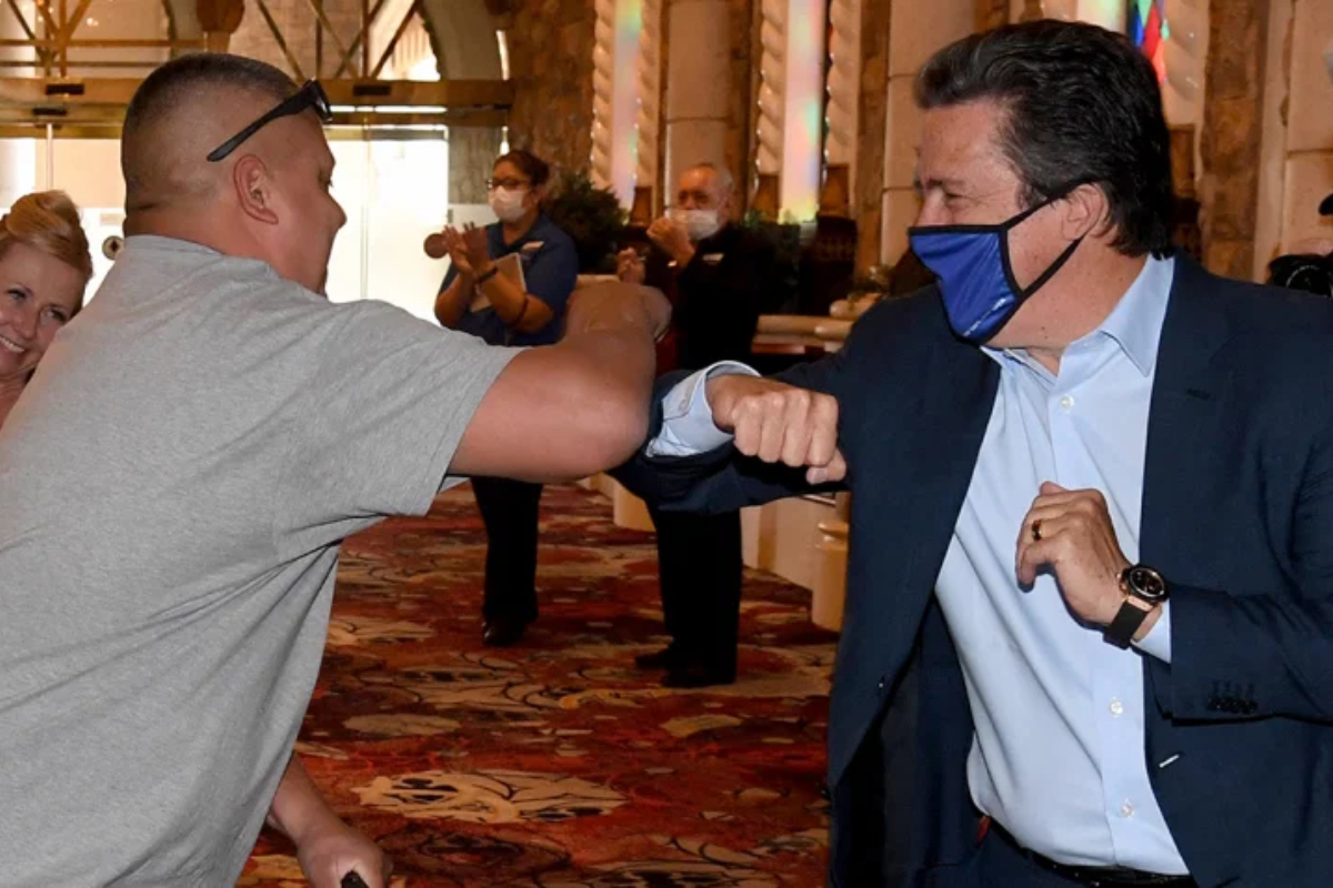 MGM Resorts Bill Hornbuckle Las Vegas