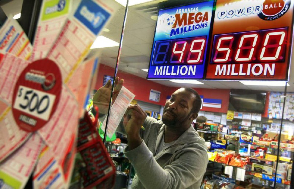 Powerball draw lottery jackpot